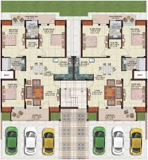 ansal housing unit plan of g 2 ground floor plan 3 bedroom unit saleable area 1410 sq ft