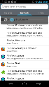bookmarks on android firefox for android bookmarks my home in the world of computers