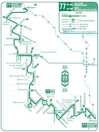 Metro Route Map by Bus Schedules Maryland Transit Administration