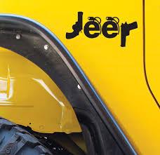 jeep cherokee sticker jeep decals guns grenades stickers set of 2 wrangler compass
