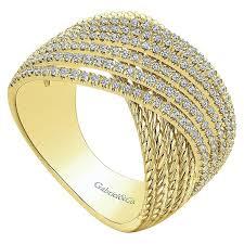 ladies rings diamond images Ladies 39 ring 14k yellow gold hampton wide band fashion jpg