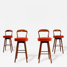 bar stools modern swivel bar stools mid century modern ottoman