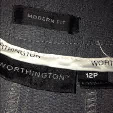 60 off worthington pants womens worthington dress pants size