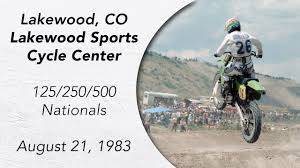 ama national motocross motocross 1983 colorado ama 125 250 500 national youtube