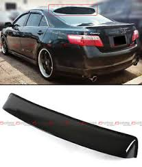 2007 toyota camry spoiler for 2007 2011 toyota camry jdm glossy black rear window roof aero