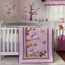 Organic Nursery Bedding Sets by Lambs U0026 Ivy Bedtime Originals Lavender Woods 3 Piece Crib Bedding