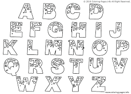 abc pages to print printable abc coloring pages print alphabet beautiful free 25859