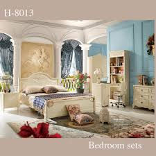 royal style bedroom furniture simple design white bedroom sets