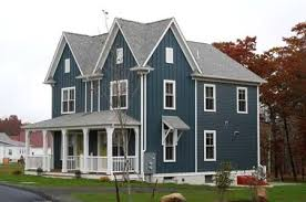 grey roof blue house google search renovations pinterest