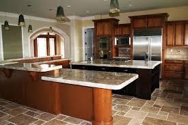 Black And Oak Kitchen Cabinets - contemporary oak kitchen cabinets u shaped gray wood cabinet