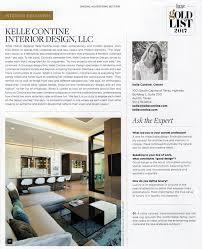 Interior Design Firms Austin Tx by Recognition Interior Design Firm Kelle Contine