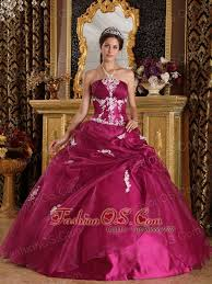fuchsia quinceanera dresses new fuchsia quinceanera dress strapless organza and satin appliques