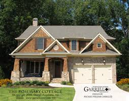 prairie style house plans rosemary cottage house plan house plans by garrell associates inc