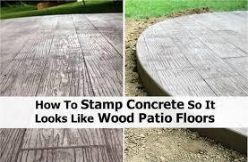 Home Design Garden Architecture Blog Magazine Diy Stamped Concrete Wood Home Design Garden U0026 Architecture
