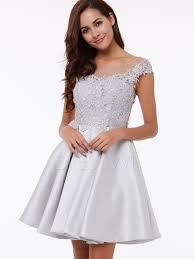 chic dress chic cap sleeve lace applique a line party dress 12251095