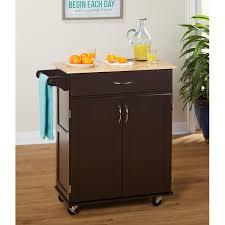 andover mills jefferson kitchen cart with wood top u0026 reviews wayfair