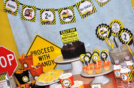 construction party supplies construction theme birthday cake