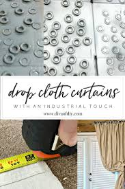 How To Make Curtains Out Of Drop Cloths How To Make Diy Curtains Out Of Drop Cloths Diva Of Diy