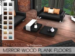 pralinesims mirror wood plank floors s4 build floors walls