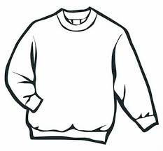 sweater in winter clothing coloring page sweater in winter