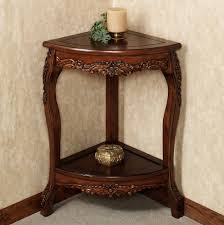 Accent Table With Storage Table Tasty Corner Hardwood Accent Table Hayneedle With Storage