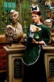 haunted mansion maid u0026 duffy the disney bear in haunted mansion