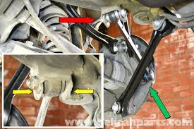 mercedes benz 190e rear multi link suspension replacement w201