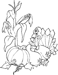 more thanksgiving coloring pages