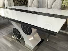 black italian dining table rococo seater picclick uk of idolza