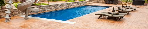 pool deck designs stamped concrete u0026 other options