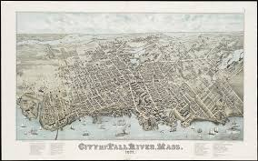 vintage fall river massachusetts 1877 drawing