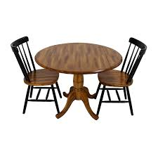Raymour And Flanigan Kitchen Sets by 47 Off Balinese Teak Dining Table Set Tables