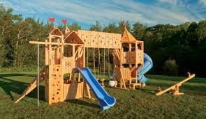 enchanting playground sets for backyards including big backyard