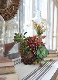 how to make a faux succulent cornucopia zevy joy