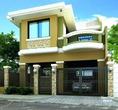 modern two story house plans two story house designs modern 2 storey house small