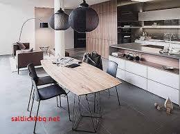 cuisine blanc et noyer table salle a manger laque blanc pour idees de deco de cuisine