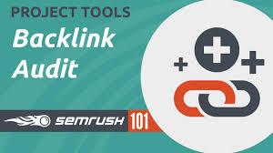 semrush 101 projects backlink audit youtube