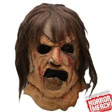 leatherface mask chainsaw 3 leatherface mask horrormerch