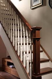 brilliant box stairs design box newel post george quinn stair Box Stairs Design
