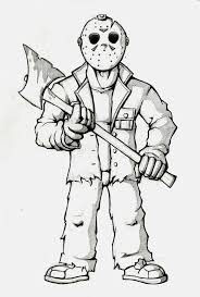 pics of scary coloring pages for teens u2013 horror halloween