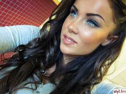 hairstyles for brown hair and blue eyes 12 eye makeup tricks every woman with blue eyes should know blow