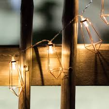 geometric gold led string lights kiyolo