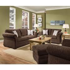 simmons upholstery plato chocolate sofa free shipping today