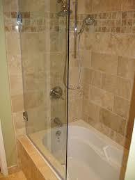 bathroom shower doors ideas half glass shower door for bathtub i52 all about trend home design