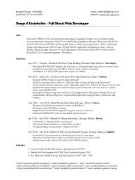 Uiuc Resume Resume One Page Front And Back Virtren Com