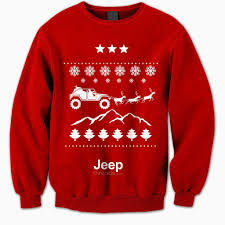 jeep christmas shirt jeep threads christmas ugly christmas sweaters
