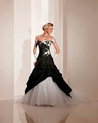 robe de mari e noir et blanc robe de mariée mariage toulouse