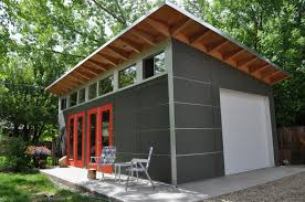 Shed Interior Ideas by Prefab Garage Shed Kits Backyard Studios Garage Contemporary