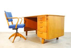 scandinavian vintage writing desk for åtvidaberg sweden 1950s