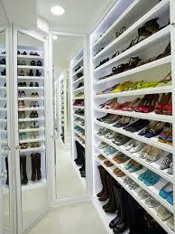 Shoe Home Decor Magnificent Shoe Rack For Closet Astounding Clipgoo